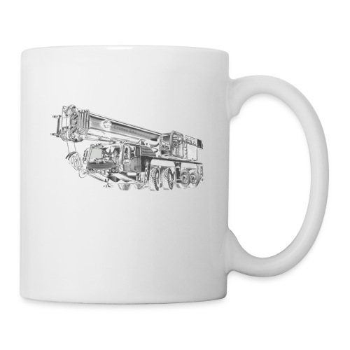 Mobile Crane 4-axle - Mug