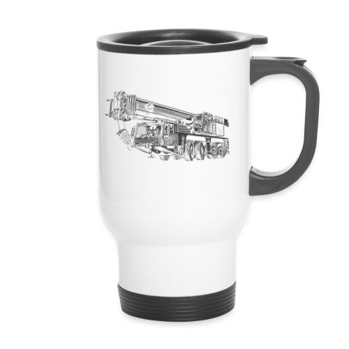 Mobile Crane 4-axle - Travel Mug