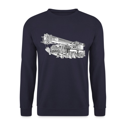 Mobile Crane 4-axle - Men's Sweatshirt