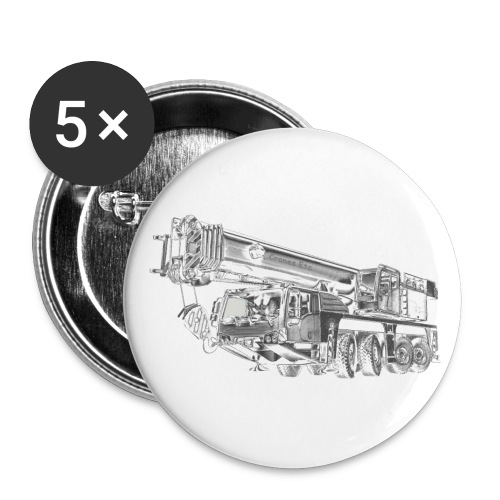 Mobile Crane 4-axle - Buttons large 2.2''/56 mm (5-pack)