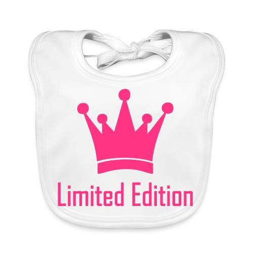 Meisje: Limited edition - Bio-slabbetje voor baby's