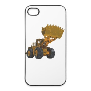 Old Mining Wheel Loader - Yellow - iPhone 4/4s Hard Case
