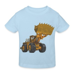 Old Mining Wheel Loader - Yellow - Kids' Organic T-shirt