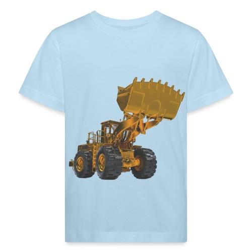 Old Mining Wheel Loader - Yellow - Kids' Organic T-Shirt