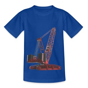Crawler Crane 750t - Red - Kids' T-Shirt