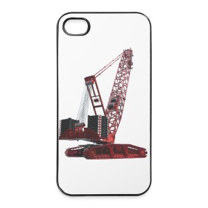 Crawler Crane 750t - Red - iPhone 4/4s Hard Case
