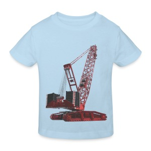 Crawler Crane 750t - Red - Kids' Organic T-shirt