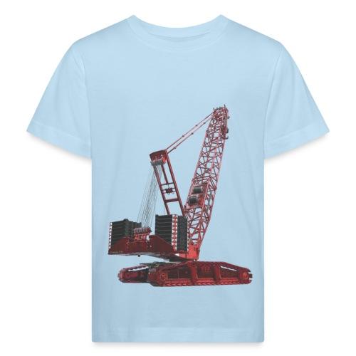 Crawler Crane 750t - Red - Kids' Organic T-Shirt