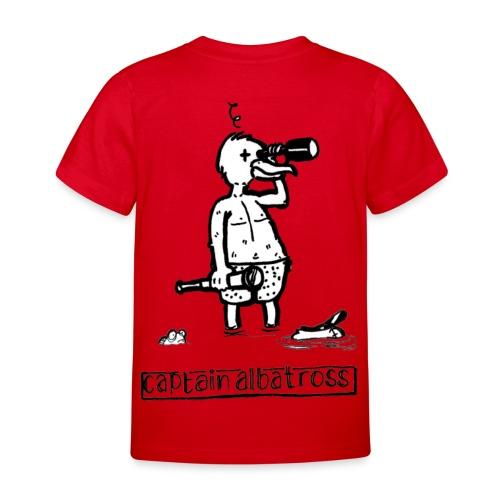 Captain Albatross Kids Shirt 2 - Kinderen T-shirt