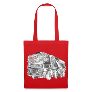 Tipper Truck 8x4 - Tote Bag