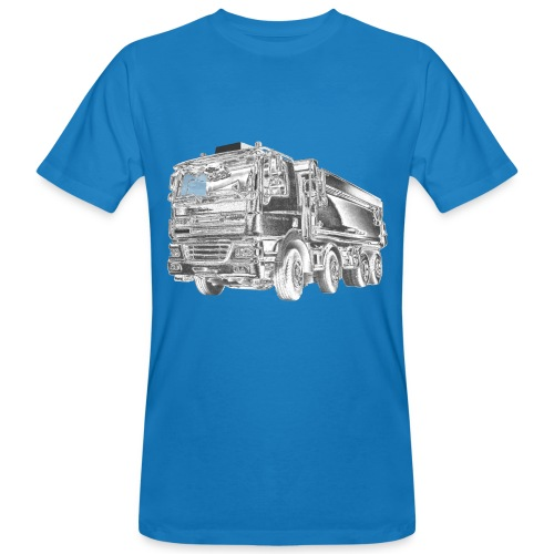 Tipper Truck 8x4 - Men's Organic T-Shirt
