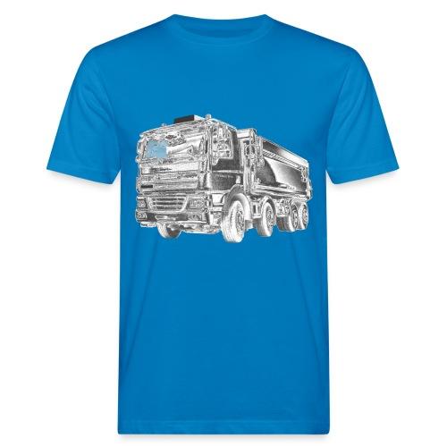 Tipper Truck 8x4 - Men's Organic T-Shirt
