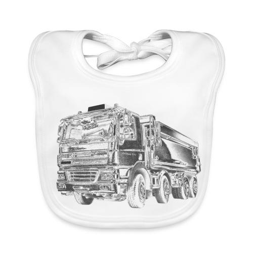 Tipper Truck 8x4 - Baby Organic Bib