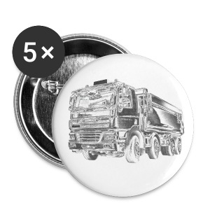 Tipper Truck 8x4 - Buttons medium 32 mm