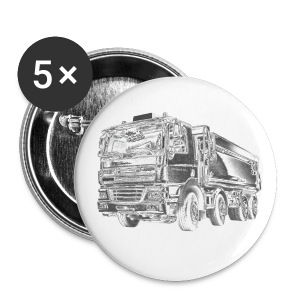 Tipper Truck 8x4 - Buttons large 56 mm