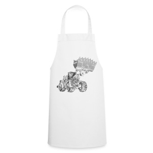 Old Mining Wheel Loader - Cooking Apron