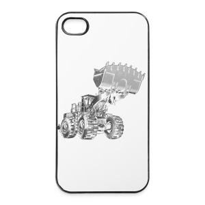 Old Mining Wheel Loader - iPhone 4/4s Hard Case
