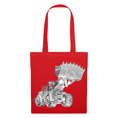 Old Mining Wheel Loader - Tote Bag