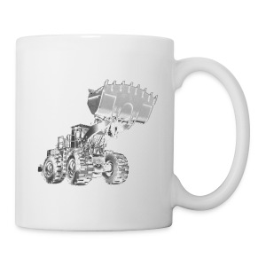 Old Mining Wheel Loader - Mug