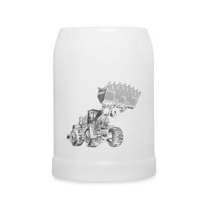 Old Mining Wheel Loader - Beer Mug