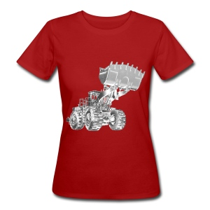 Old Mining Wheel Loader - Women's Organic T-shirt
