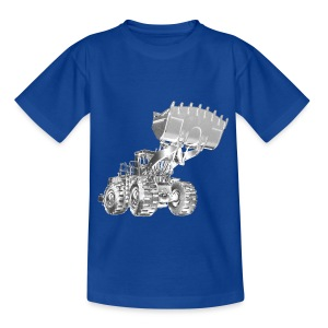 Old Mining Wheel Loader - Teenage T-shirt
