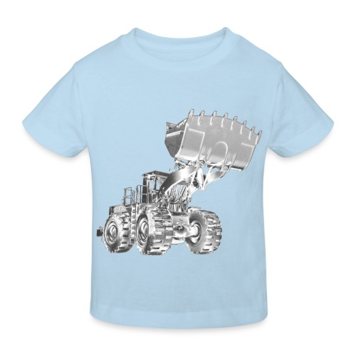 Old Mining Wheel Loader - Kids' Organic T-Shirt