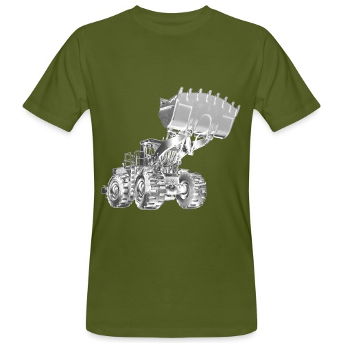 Old Mining Wheel Loader - Men's Organic T-Shirt