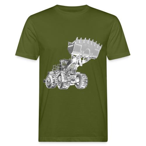 Old Mining Wheel Loader - Men's Organic T-Shirt