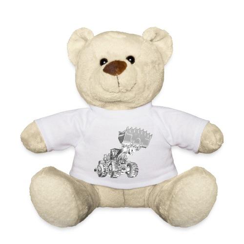 Old Mining Wheel Loader - Teddy Bear