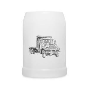 Flatbed truck - 3-axle - Beer Mug