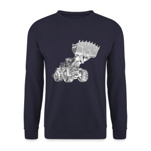 Old Mining Wheel Loader - Men's Sweatshirt
