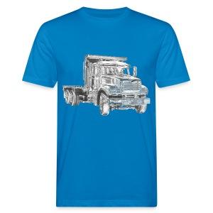 Flatbed truck - 3-axle - Men's Organic T-shirt