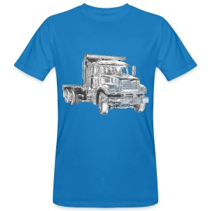 Flatbed truck - 3-axle - Men's Organic T-shirt