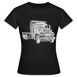 Flatbed truck - 3-axle - Women's T-Shirt