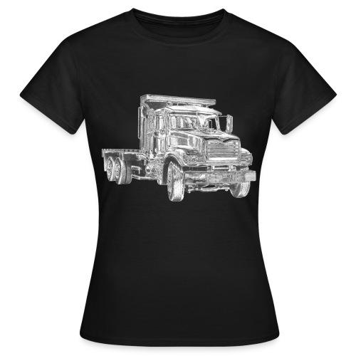 Flatbed truck - 3-axle - Women's T-Shirt