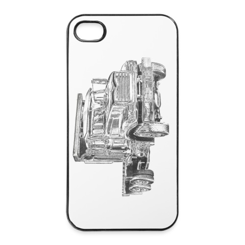 Flatbed truck - 3-axle - iPhone 4/4s Hard Case