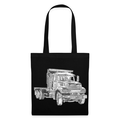 Flatbed truck - 3-axle - Tote Bag