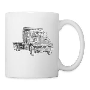 Flatbed truck - 3-axle - Mug