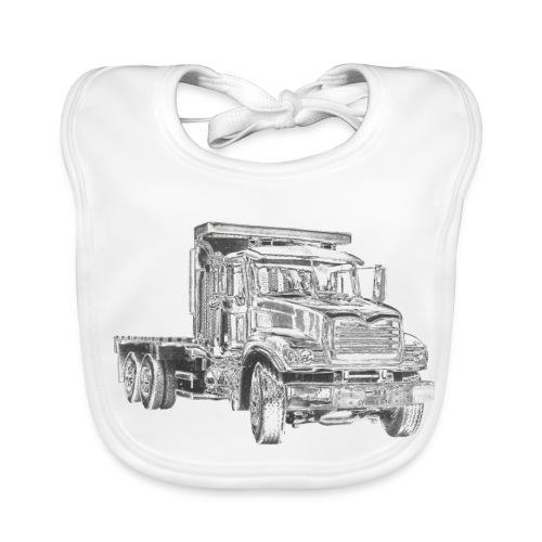Flatbed truck - 3-axle - Baby Organic Bib