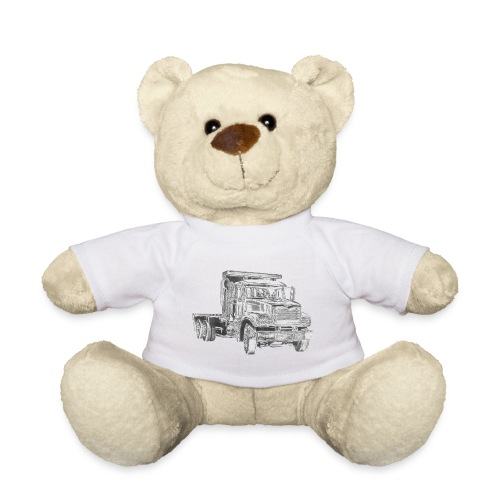 Flatbed truck - 3-axle - Teddy Bear