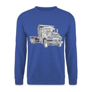 Flatbed truck - 3-axle - Men's Sweatshirt