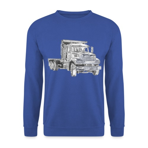 Flatbed truck - 3-axle - Men's Sweatshirt