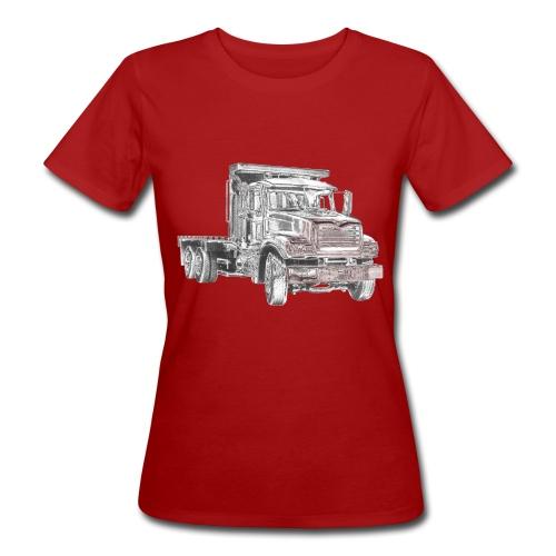 Flatbed truck - 3-axle - Women's Organic T-Shirt
