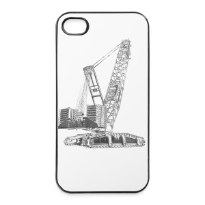 Crawler Crane 750t - iPhone 4/4s Hard Case