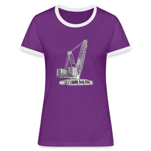 Crawler Crane 750t - Women's Ringer T-Shirt