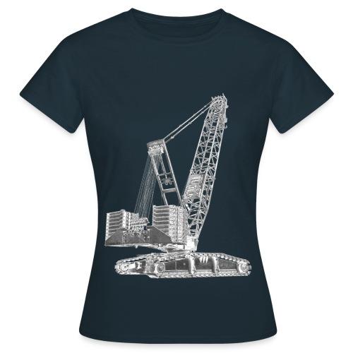 Crawler Crane 750t - Women's T-Shirt