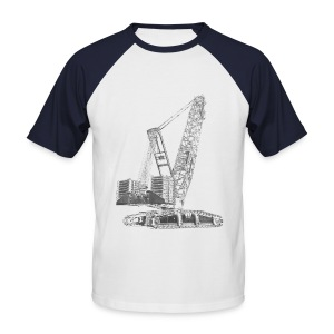 Crawler Crane 750t - Men's Baseball T-Shirt