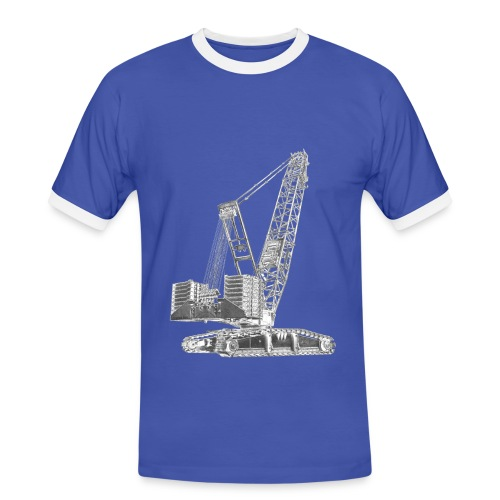 Crawler Crane 750t - Men's Ringer Shirt