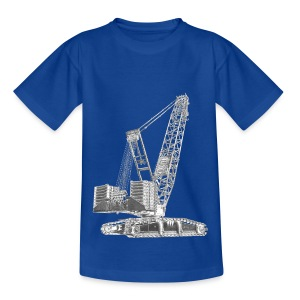 Crawler Crane 750t - Teenage T-shirt